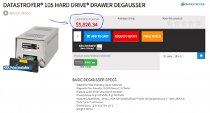 Degausser Price
