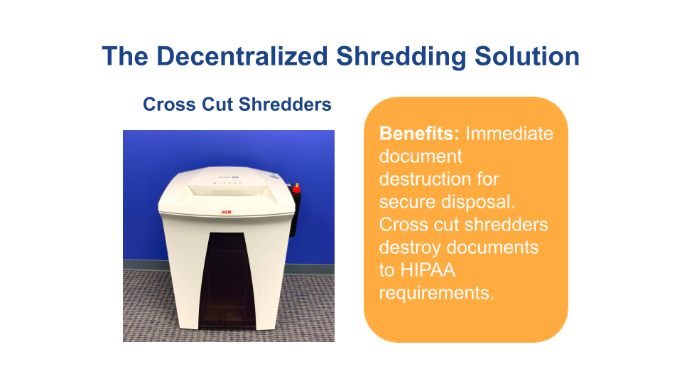 Decentralized Shredding